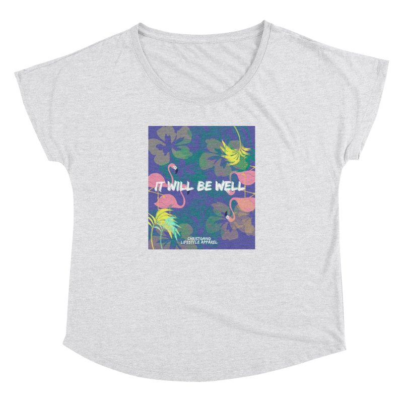 Somewhere In The Tropics Women's Dolman by ChristGang Apparel