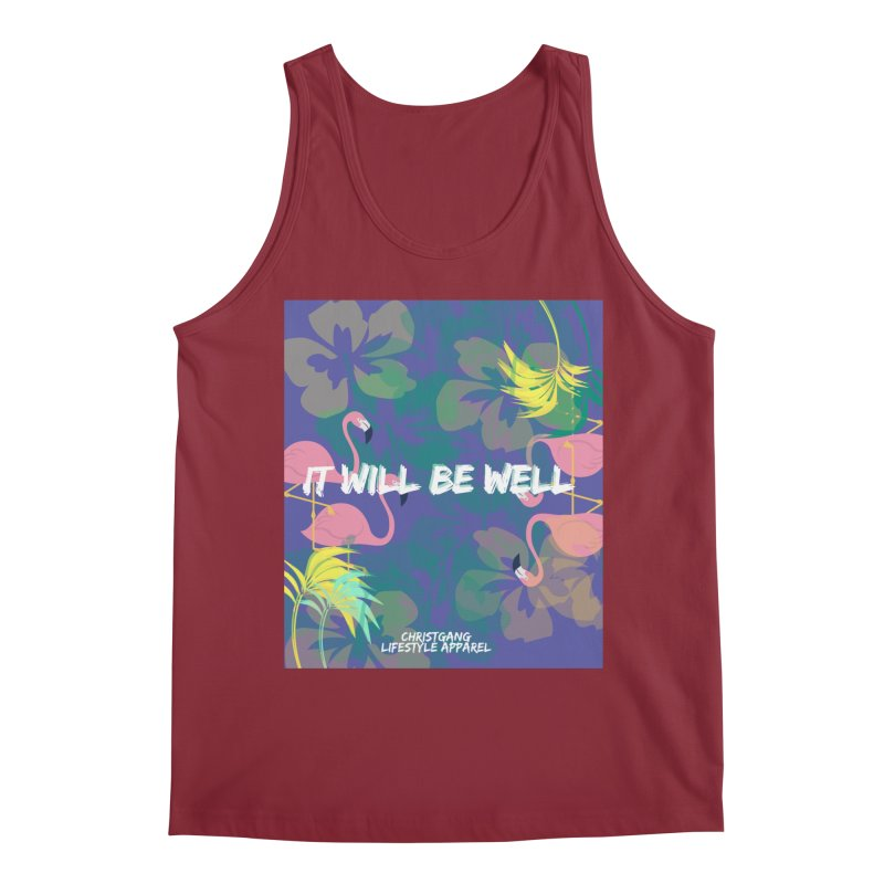 Somewhere In The Tropics Men's Tank by ChristGang Apparel