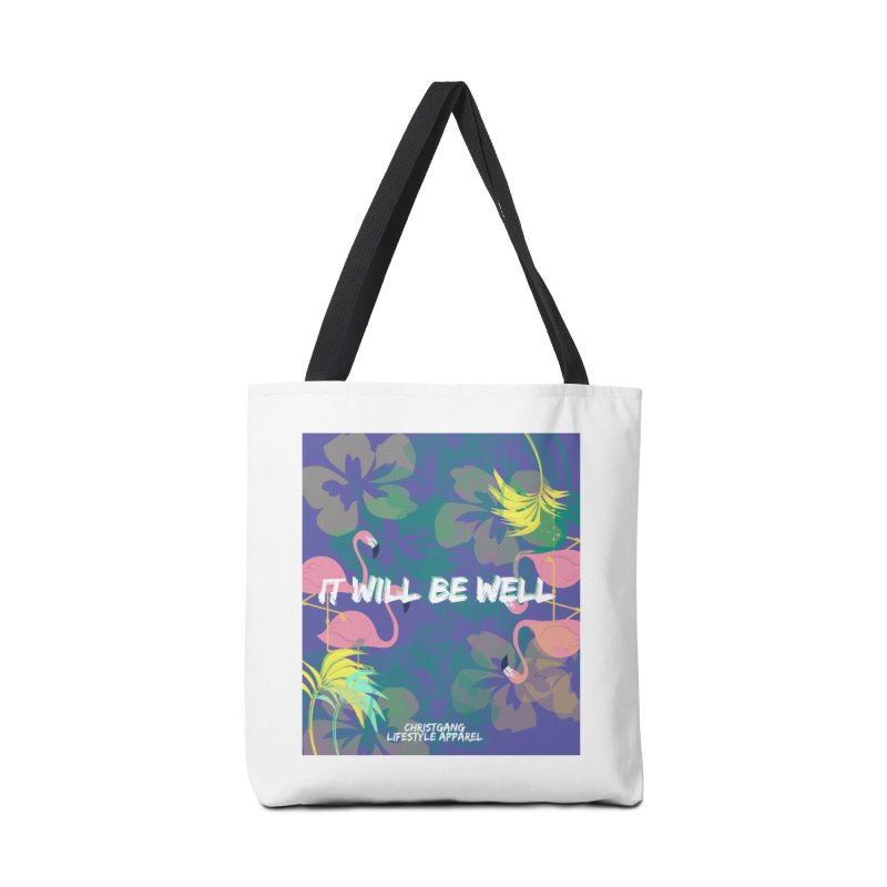 Somewhere In The Tropics Accessories Tote Bag Bag by ChristGang Apparel
