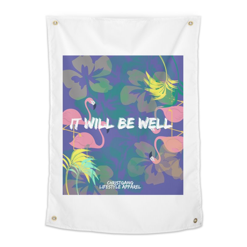 Somewhere In The Tropics Home Tapestry by ChristGang Apparel