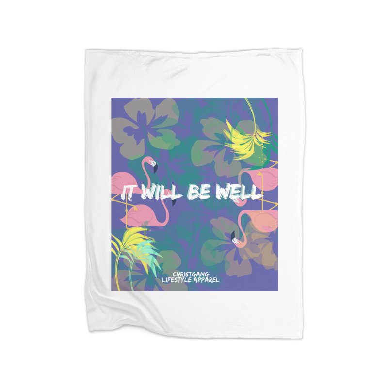 Somewhere In The Tropics Home Blanket by ChristGang Apparel