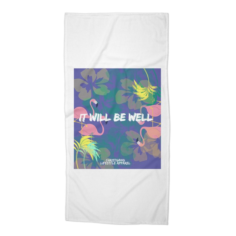 Somewhere In The Tropics Accessories Beach Towel by ChristGang Apparel