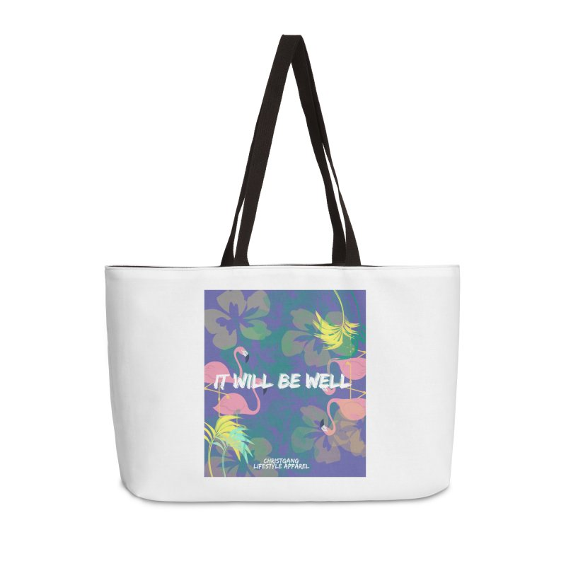 Somewhere In The Tropics Accessories Weekender Bag Bag by ChristGang Apparel