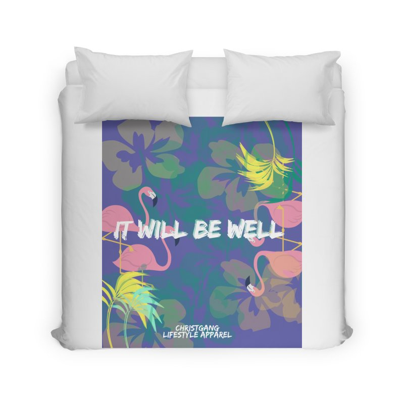 Somewhere In The Tropics Home Duvet by ChristGang Apparel