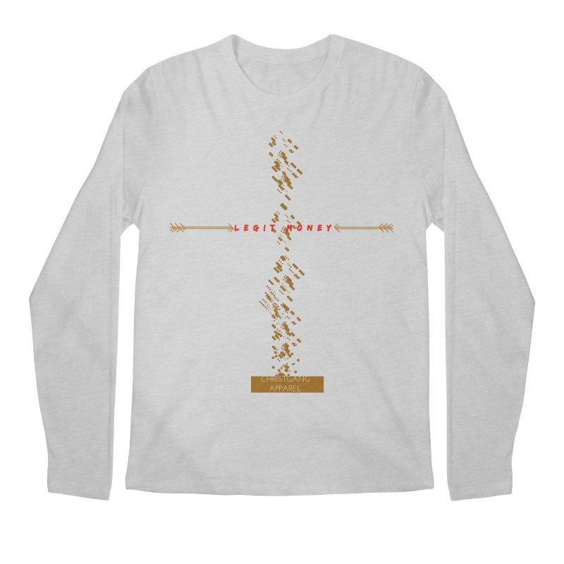 Legit Money Men's Longsleeve T-Shirt by ChristGang Apparel
