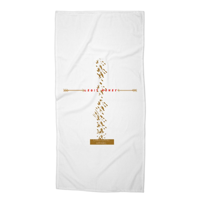 Legit Money Accessories Beach Towel by ChristGang Apparel