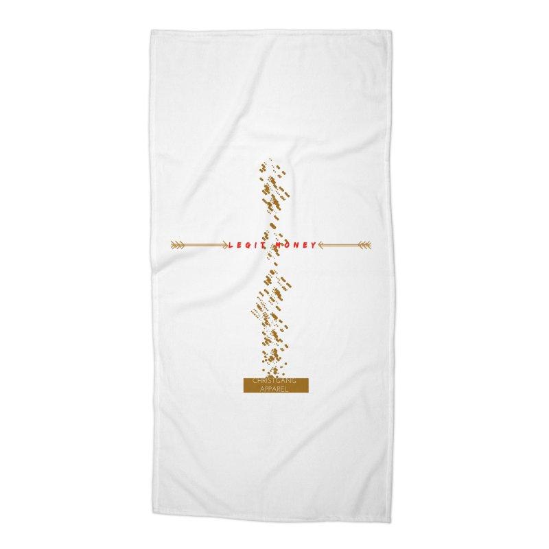 Legit Money Accessories Beach Towel by ChristGang Apparel