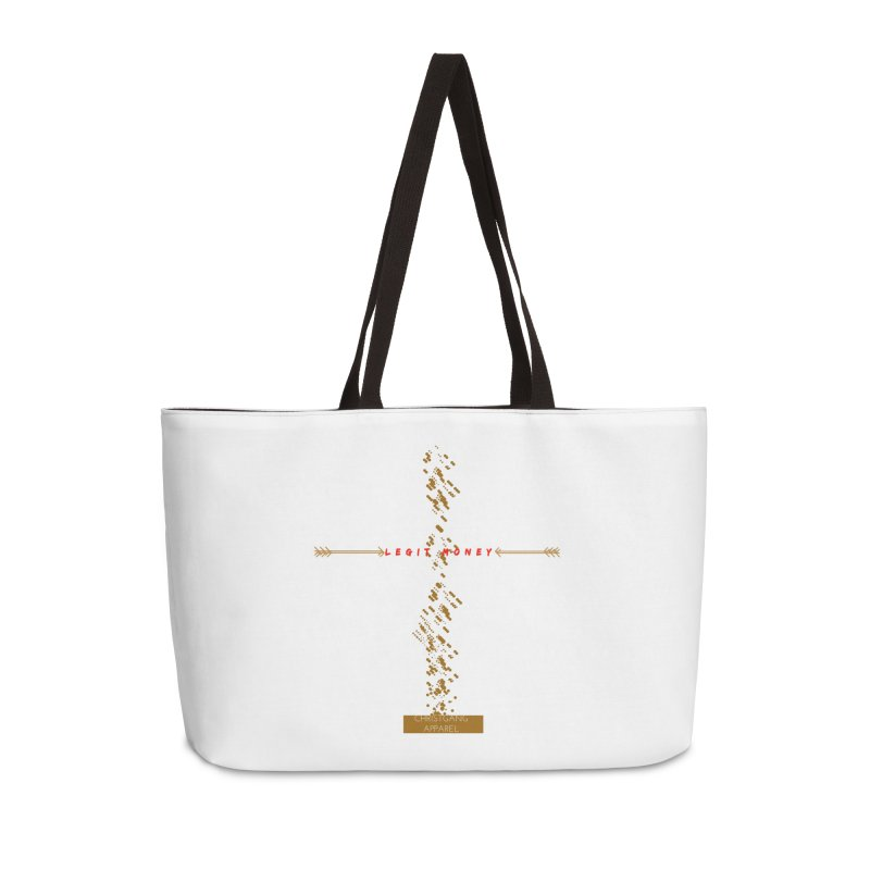 Legit Money Accessories Weekender Bag Bag by ChristGang Apparel