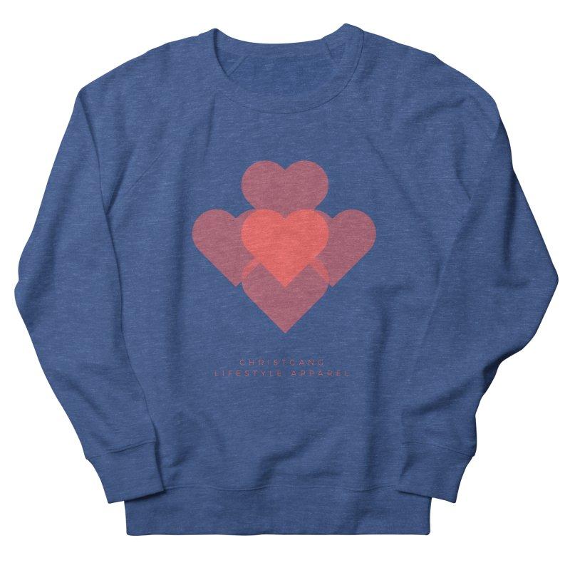 Hearts Men's Sweatshirt by ChristGang Apparel