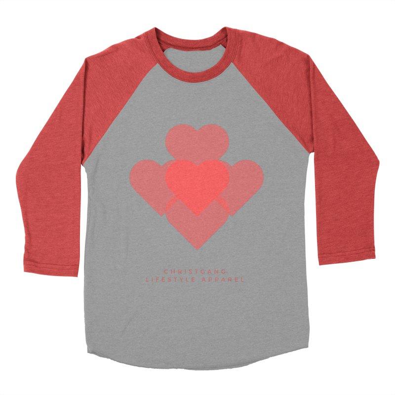 Hearts Men's Longsleeve T-Shirt by ChristGang Apparel