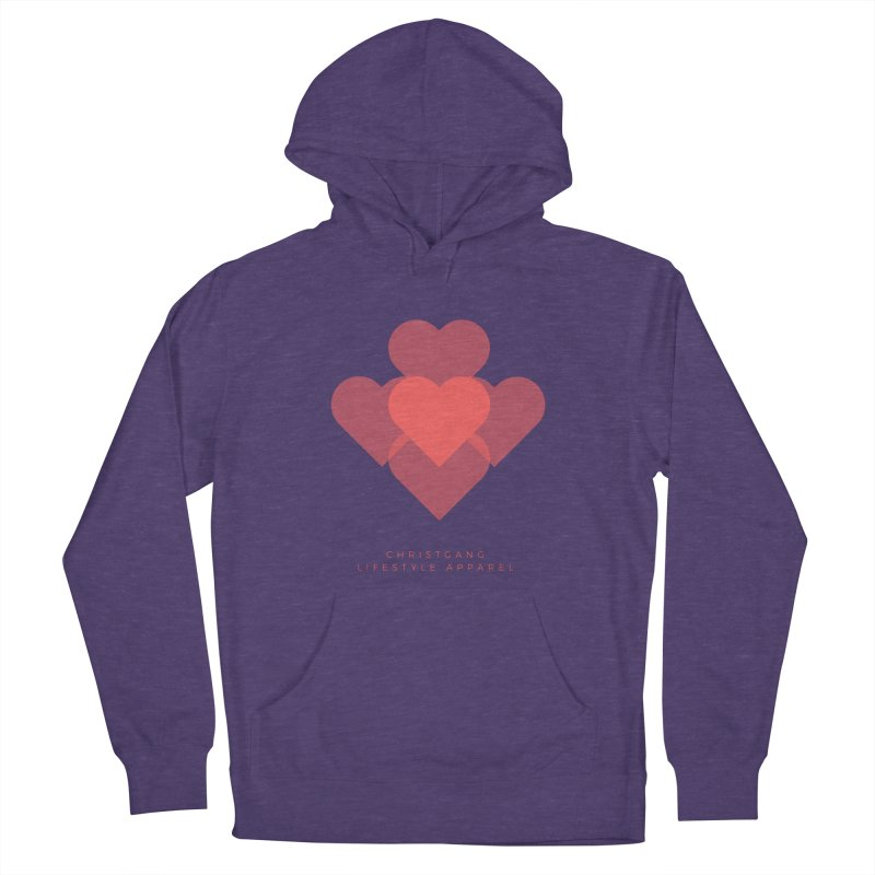 Hearts Women's Pullover Hoody by ChristGang Apparel