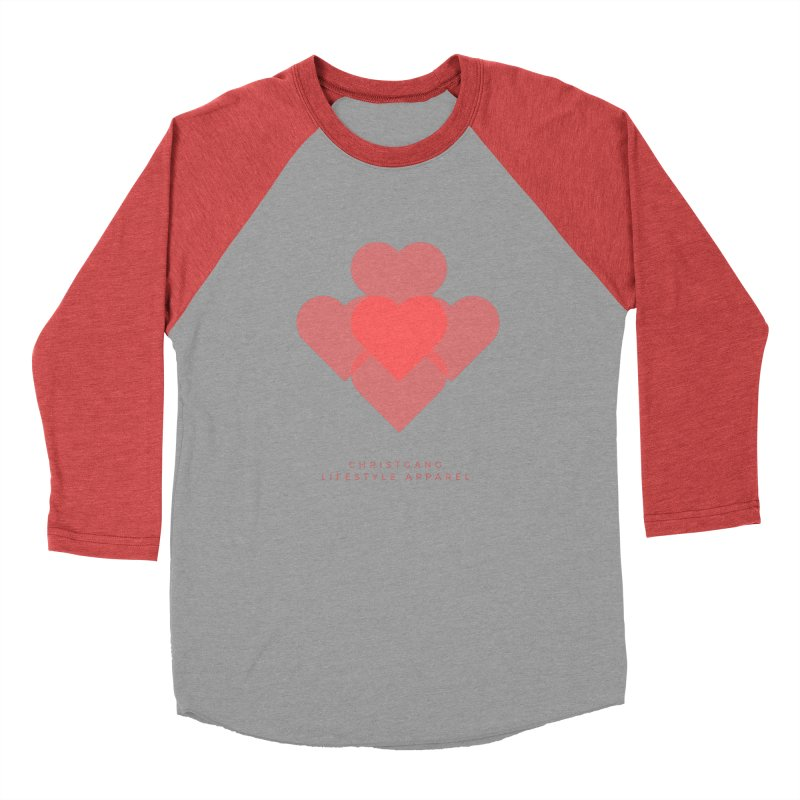 Hearts Women's Longsleeve T-Shirt by ChristGang Apparel