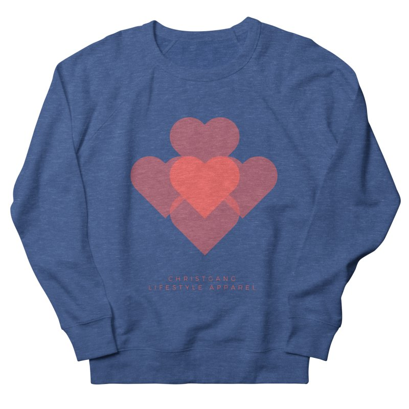 Hearts Men's Sweatshirt by ChristGang Apparel