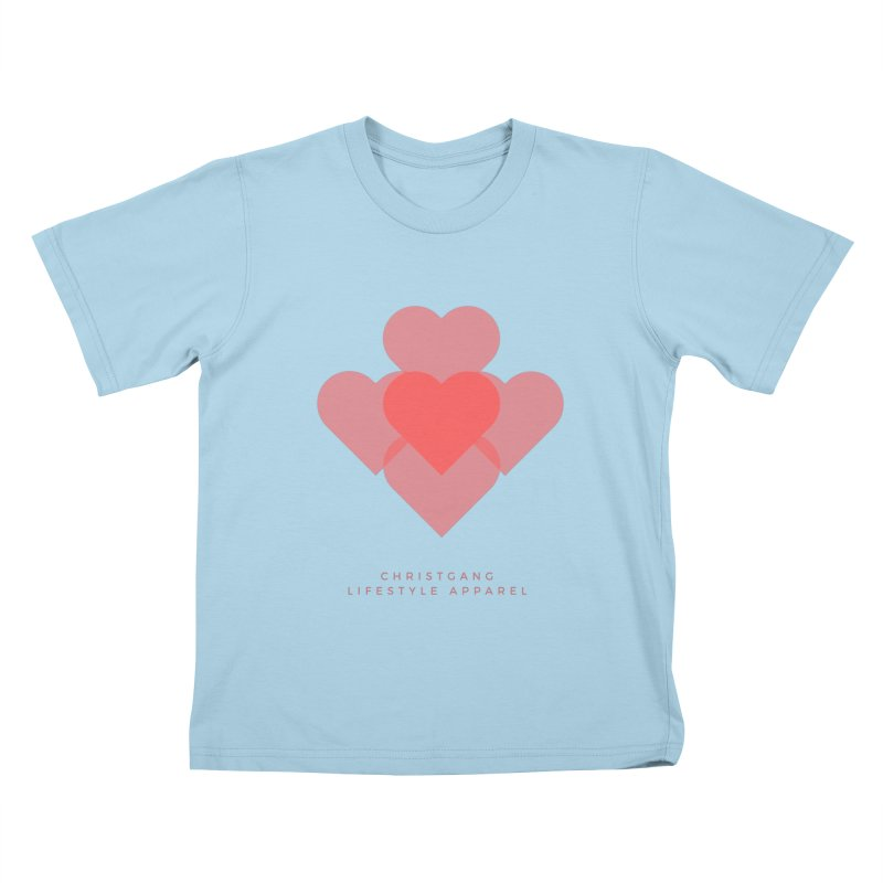 Hearts Kids T-Shirt by ChristGang Apparel