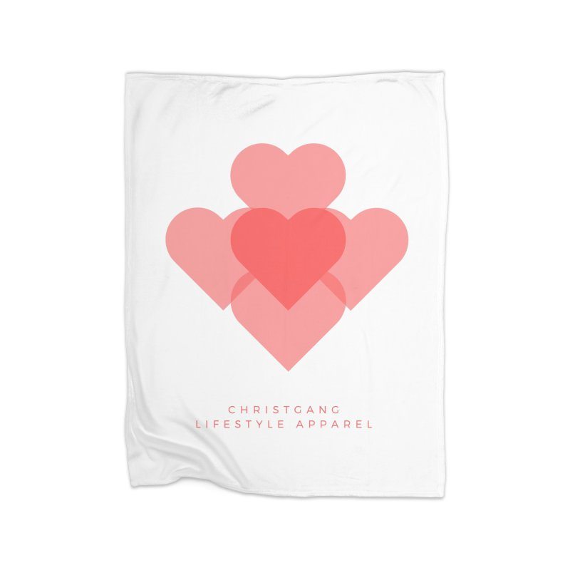 Hearts Home Blanket by ChristGang Apparel