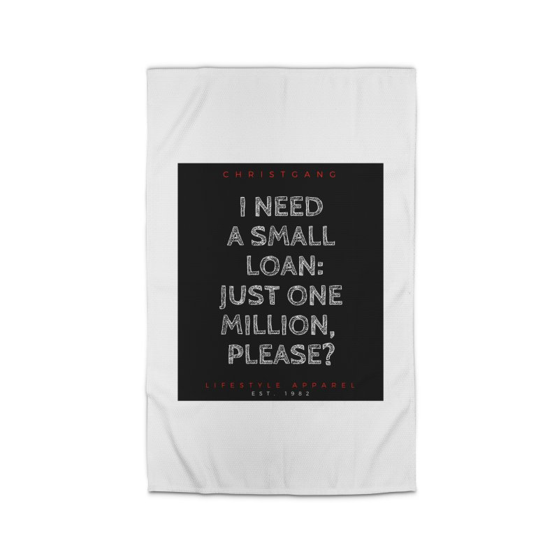 A Small Loan: $1M Home Rug by ChristGang Apparel