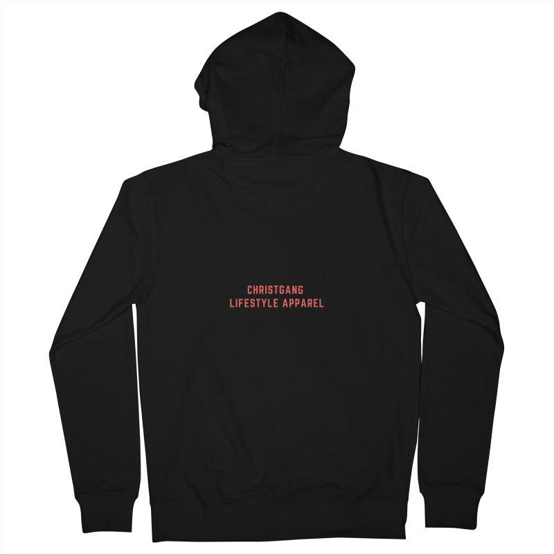 Uncorrupted Men's Zip-Up Hoody by ChristGang Apparel