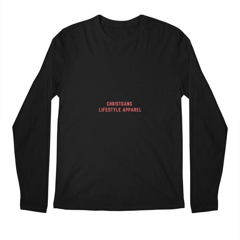 Uncorrupted Men's Regular Longsleeve T-Shirt by ChristGang Apparel