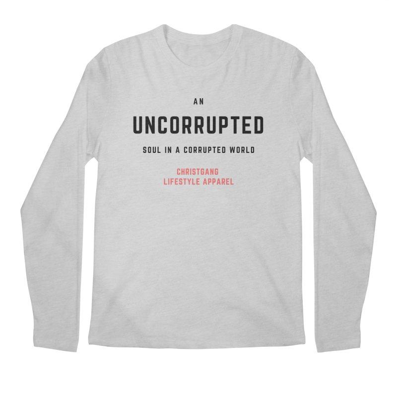 Uncorrupted Men's Regular Longsleeve T-Shirt by ChristGang Apparel