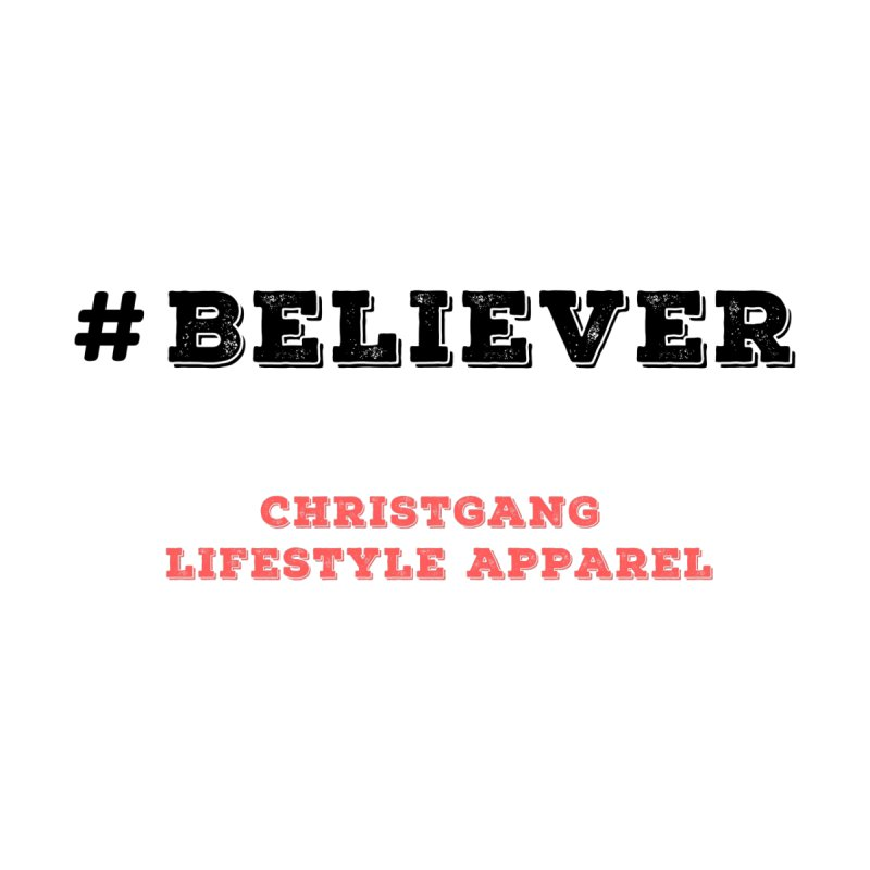 #Believer Home Stretched Canvas by ChristGang Apparel