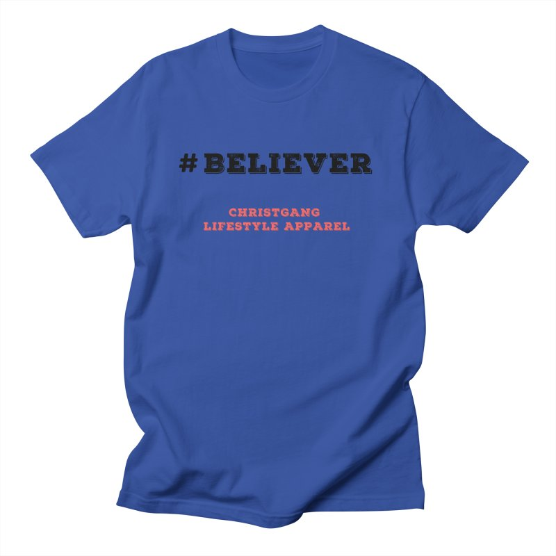 #Believer Men's T-Shirt by ChristGang Apparel
