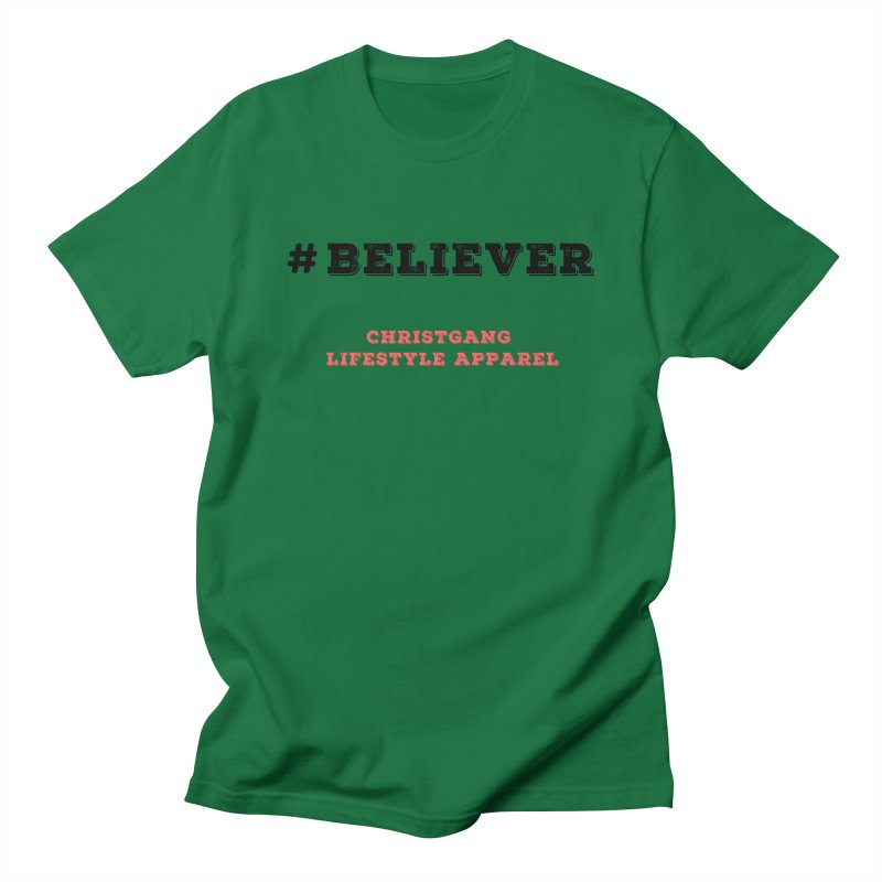 #Believer Men's Regular T-Shirt by ChristGang Apparel