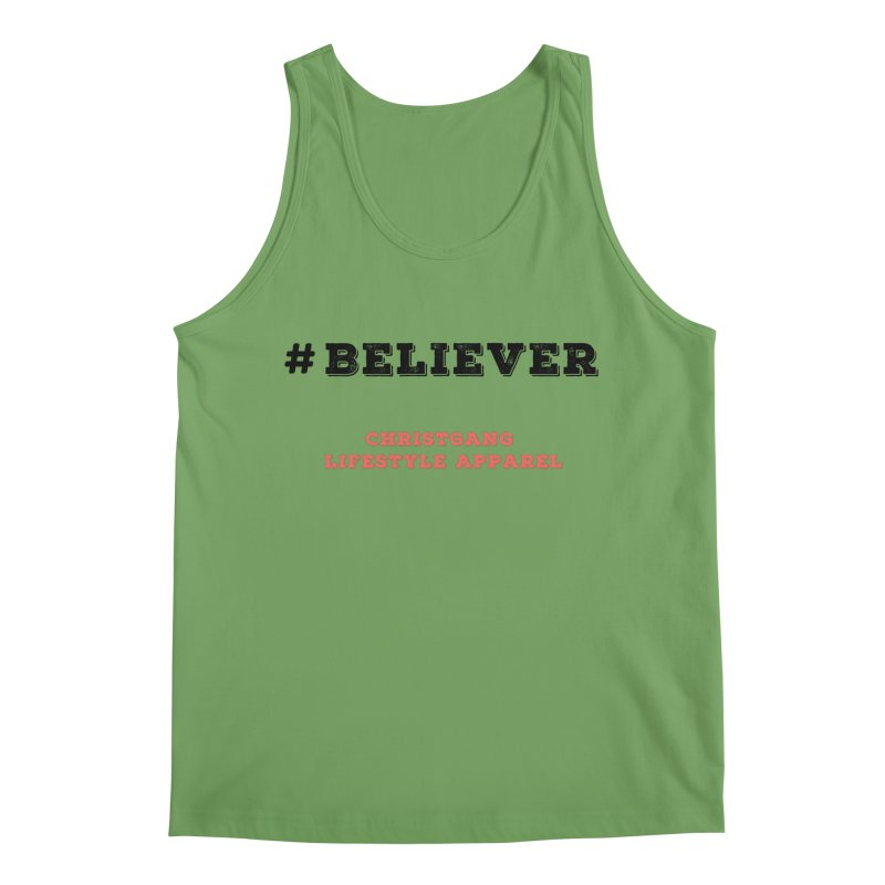 #Believer Men's Tank by ChristGang Apparel