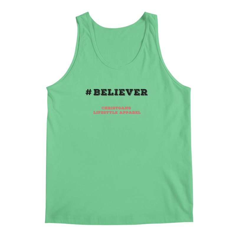 #Believer Men's Regular Tank by ChristGang Apparel