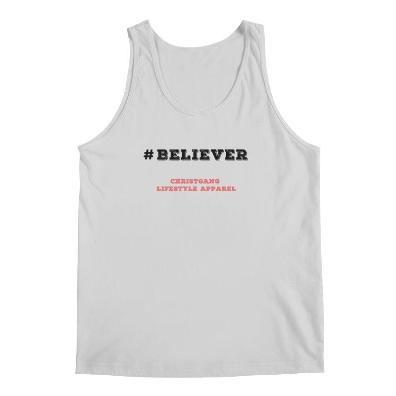 #Believer Men's Regular Tank by ChristGang Apparel