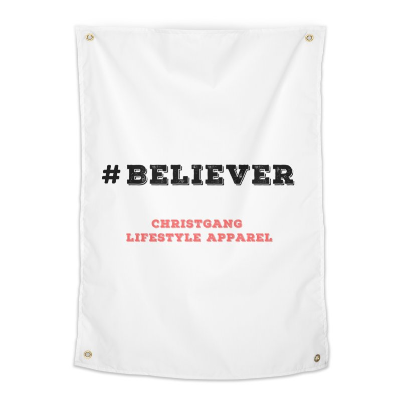 #Believer Home Tapestry by ChristGang Apparel