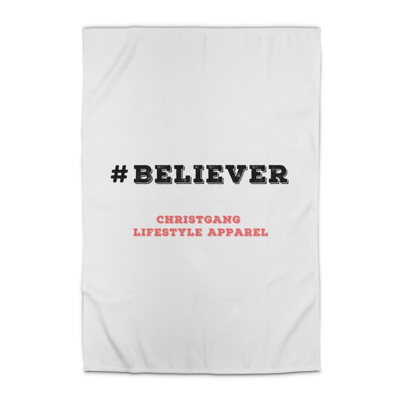 #Believer Home Rug by ChristGang Apparel