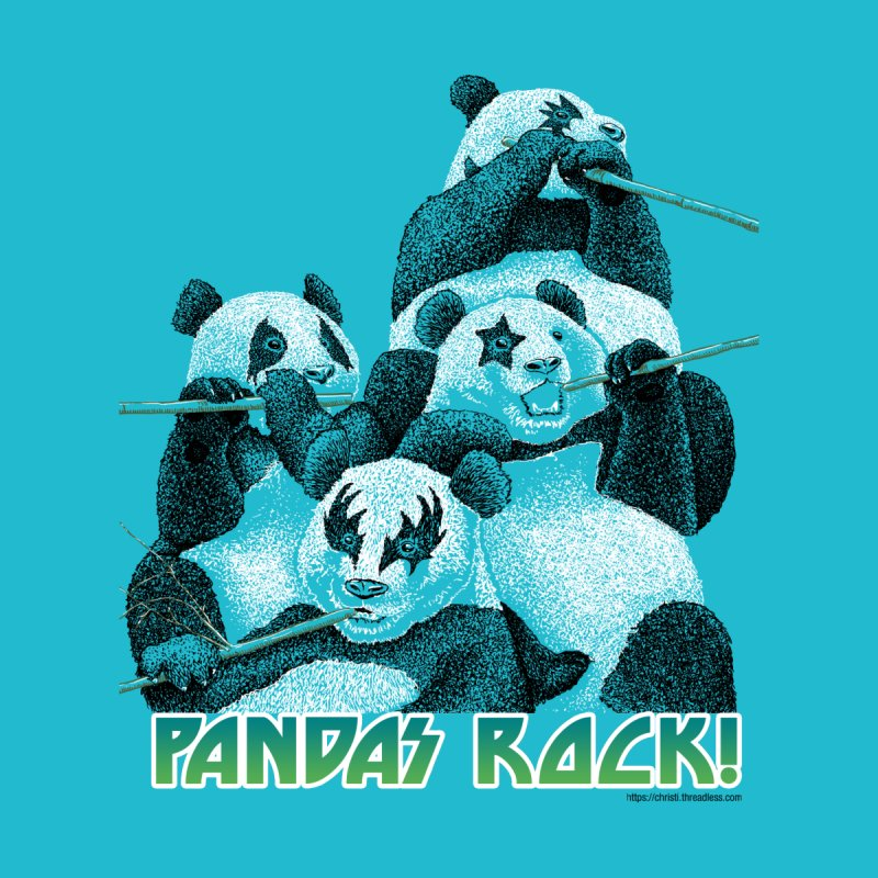 Pandas Rock by Christi Kennedy