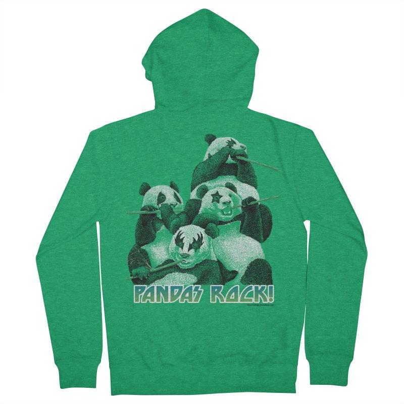 Pandas Rock Women's Zip-Up Hoody by Christi Kennedy