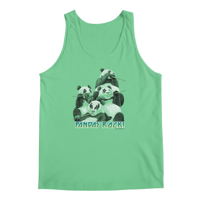 Pandas Rock Men's Tank by Christi Kennedy