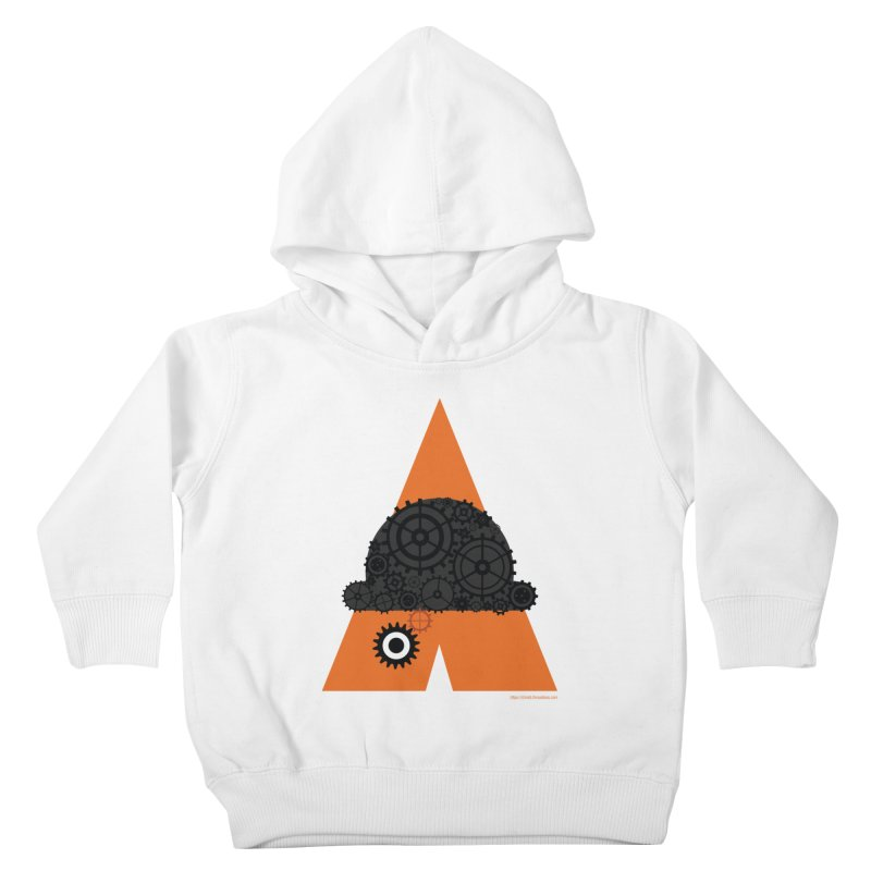 Like Clockwork Kids Toddler Pullover Hoody by Christi Kennedy