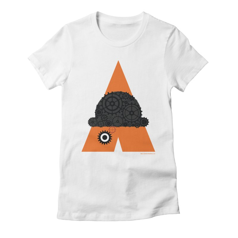 Like Clockwork Women's Fitted T-Shirt by Christi Kennedy
