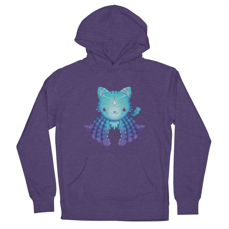 Octopuss Women's French Terry Pullover Hoody by Christi Kennedy