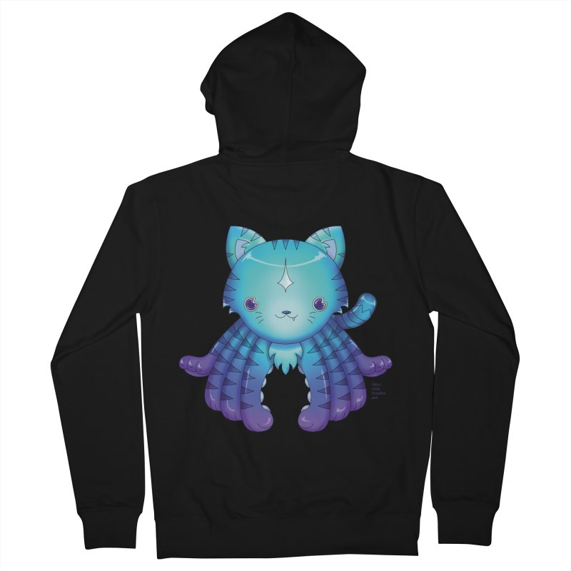 Octopuss Women's French Terry Zip-Up Hoody by Christi Kennedy
