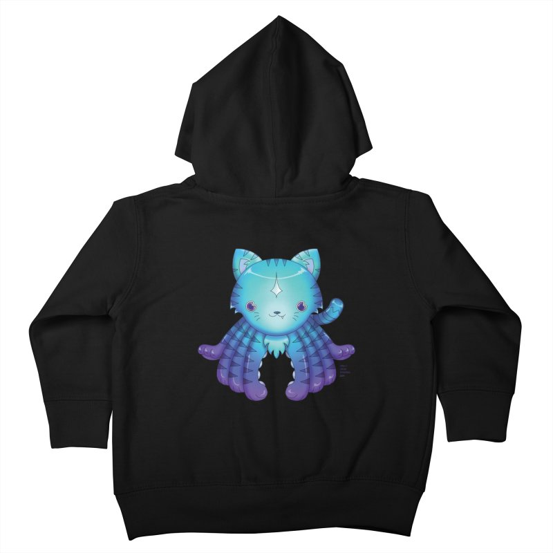 Octopuss Kids Toddler Zip-Up Hoody by Christi Kennedy