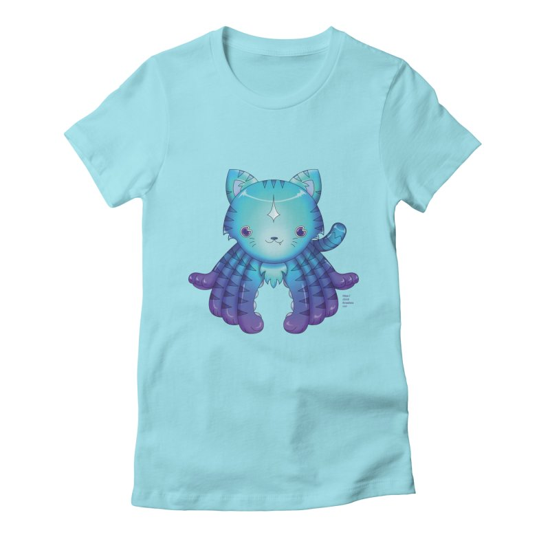 Octopuss Women's Fitted T-Shirt by Christi Kennedy