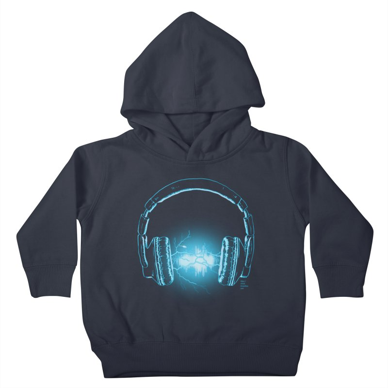 Electri-City Kids Toddler Pullover Hoody by Christi Kennedy