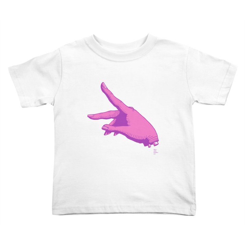 Cousin Digit Kids Toddler T-Shirt by Christi Kennedy