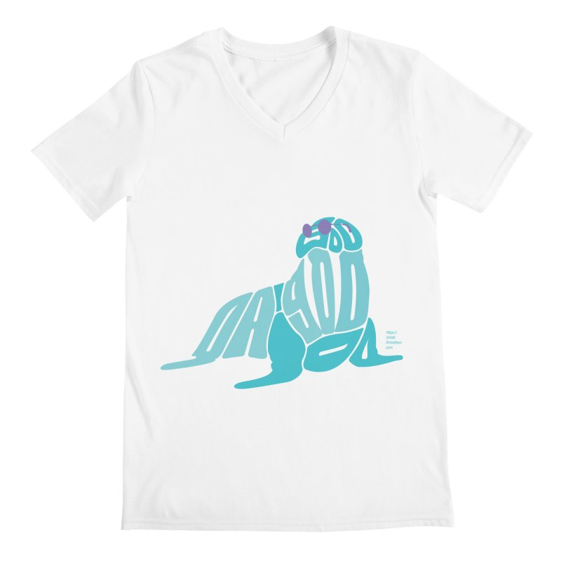 I am the Walrus Men's V-Neck by Christi Kennedy