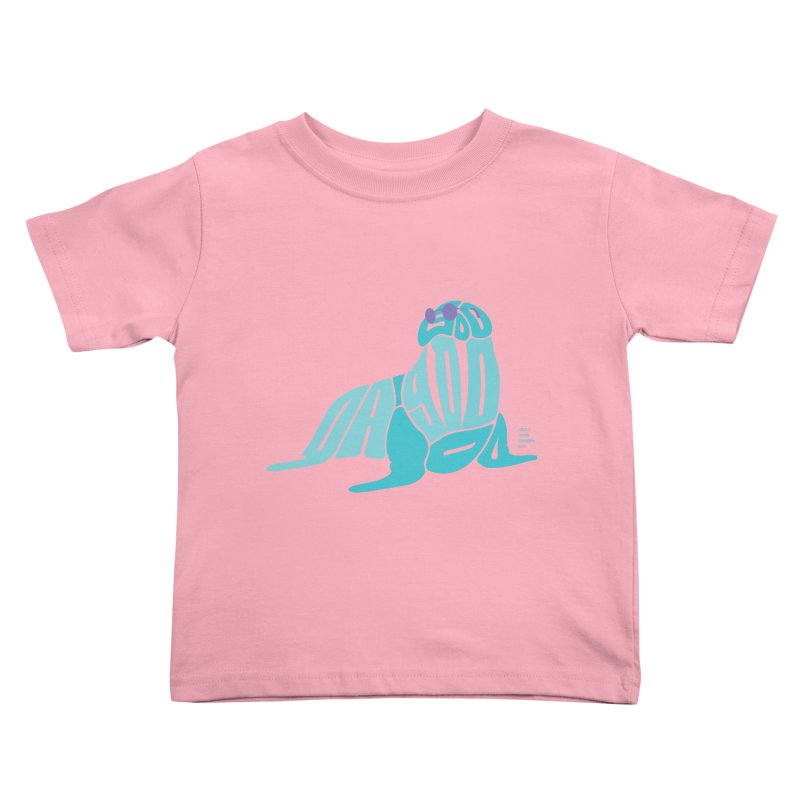 I am the Walrus Kids Toddler T-Shirt by Christi Kennedy