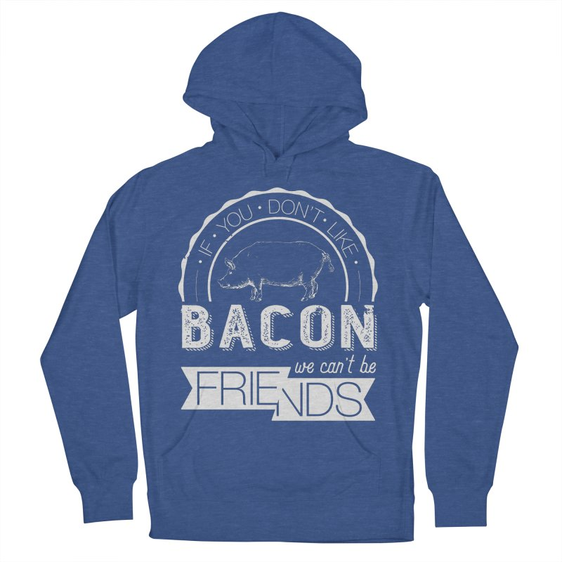 Bacon Friends Men's Pullover Hoody by Christi Kennedy