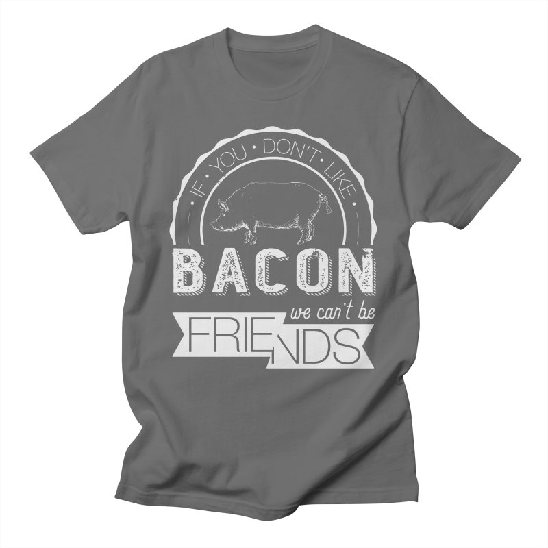 Bacon Friends Men's T-Shirt by Christi Kennedy