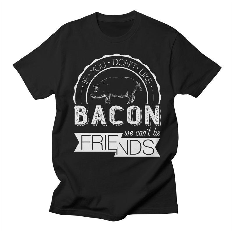 Bacon Friends Women's T-Shirt by Christi Kennedy