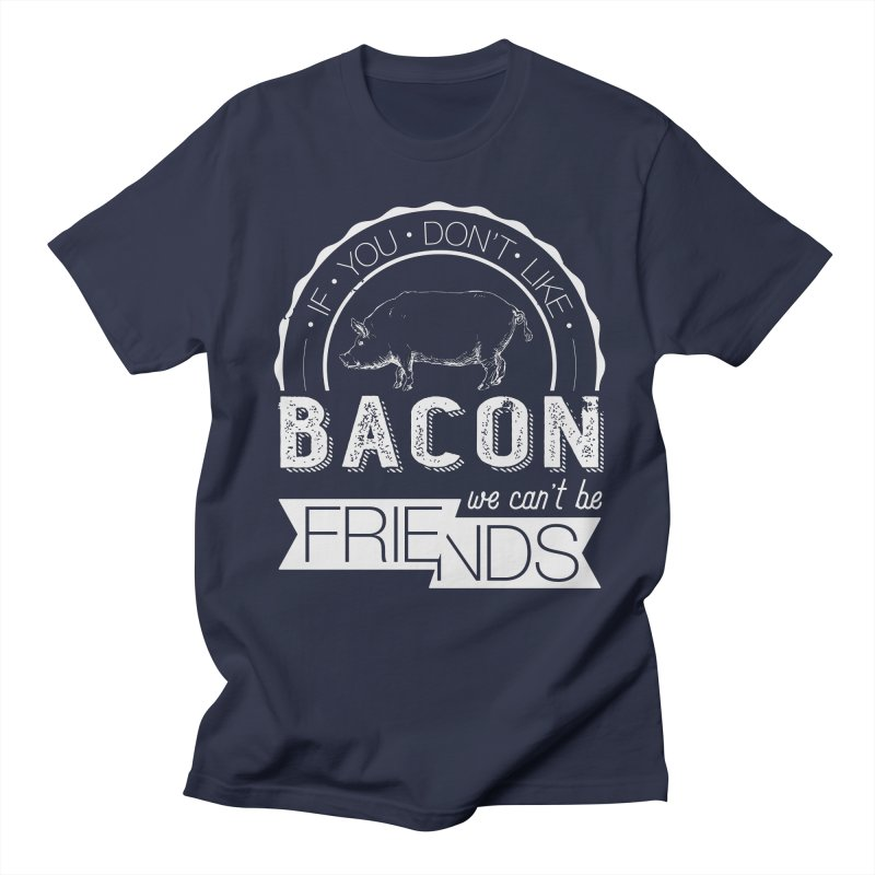 Bacon Friends Men's Regular T-Shirt by Christi Kennedy
