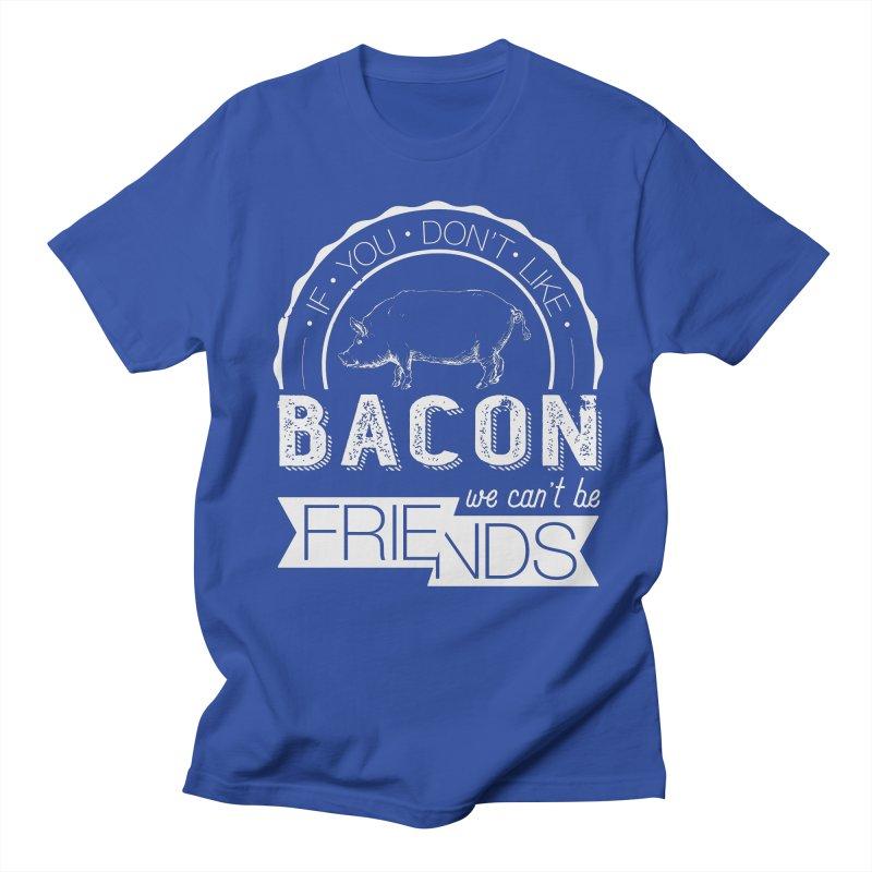 Bacon Friends Women's Regular Unisex T-Shirt by Christi Kennedy