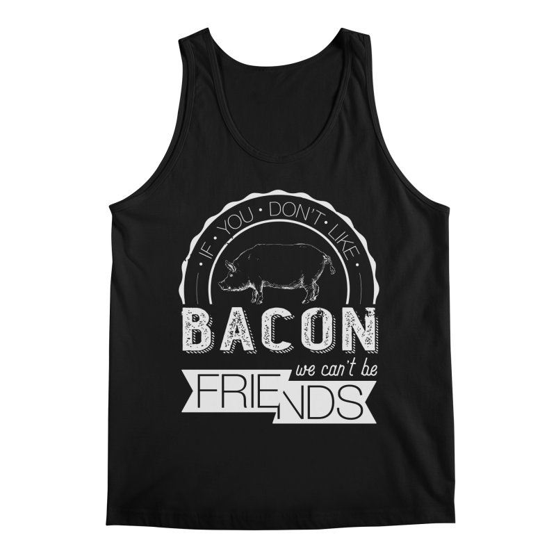 Bacon Friends Men's Regular Tank by Christi Kennedy